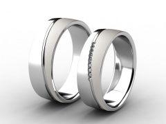 Snubní prsteny 075