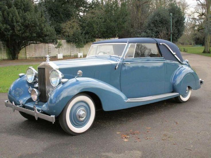 1939 Rolls Royce Wraith Faux Cabriolet