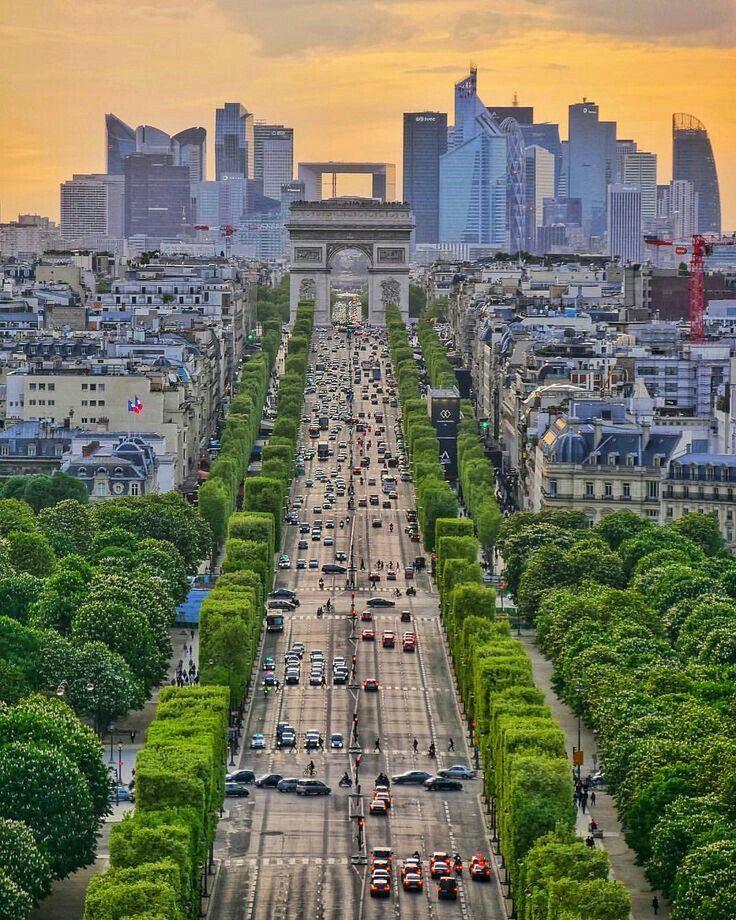 Картинки елисейские поля в париже