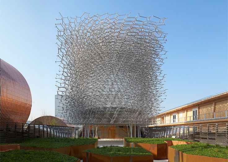 """Sometimes you can say more by being quiet"" says designer of UK's Milan Expo pavilion."