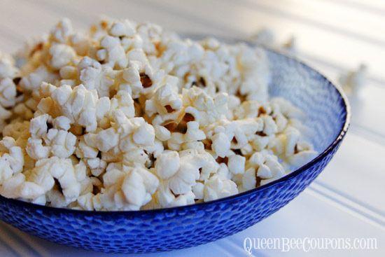 Stove Top Popcorn {Kid-friendly recipe} - Queen Bee Coupons & Savings