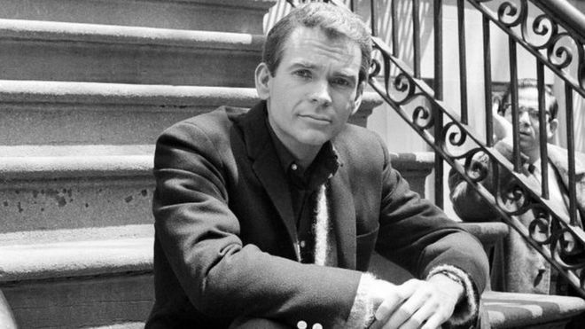 """Dean Jones, poses for a photo while on set for the Warner Bros. film, """"Any Wednesday,"""" in New York. 24 May 1966"""