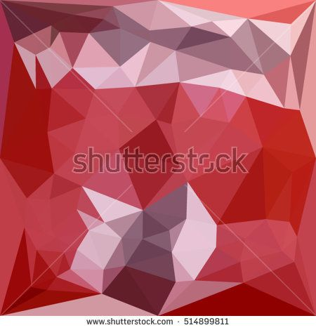 Low polygon style illustration of a pale violet red abstract geometric background. #abstractbackground #lowpolygon #illlustration