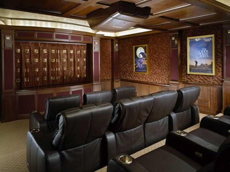 Awesome Home Theater Interior Design