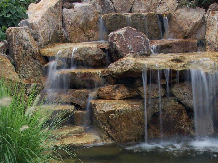 Marvelous Rock Waterfall