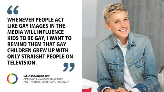 #HappyBirthday Ellen DeGeneres! The actor comedian and exuberant talk show host turns 60 years old. Congratulations! @theellenshow #EnoughisEnough #StopHomophobia #StopTransphobia #ComingOut #LGBTI #Community #Gesellschaft #TheEllenShow #BeYourself #BeProud #outing #loveislove #wirallegemeinsam #lsbttiq #lgbt #instagram #instagay #instaqueer #outings #instaout #free #equality #Liebe #instagay #celebrities #gay #lesbian #ellendegeneres #happy60