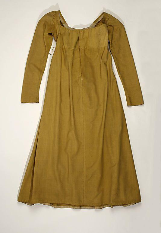 1805-1810 Dress silk