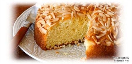 Almond Madeira Cake - Ruth Pretty Catering