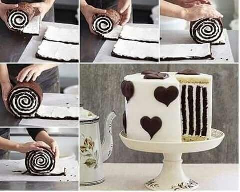 Special way of diy cake
