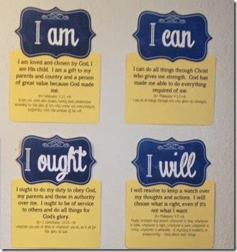 I am, I can, I ought, I will *Charlotte Mason quote backed up with scripture*  -easy wall decor- #homeschool #CharlotteMason  Now with a link to a FREE Printable for this!