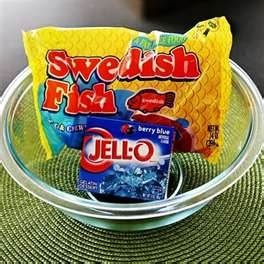 jello fish bowl. Might be fun for the kids at the wedding. (for ...