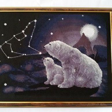 Ручная работа Белые медведи Арт