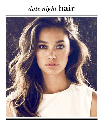 """To get the look, wrap hair around a 1 1/4"""" curling iron -- leaving the ends out -- and slightly twisting as you go. This creates softer waves that should look a little undone. """"This is my favorite babe-d out look, and is very sexy,"""" Montana says."""