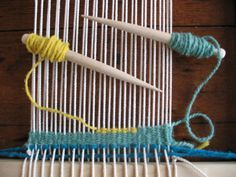 Getting started with tapestry weaving. Tutorial.