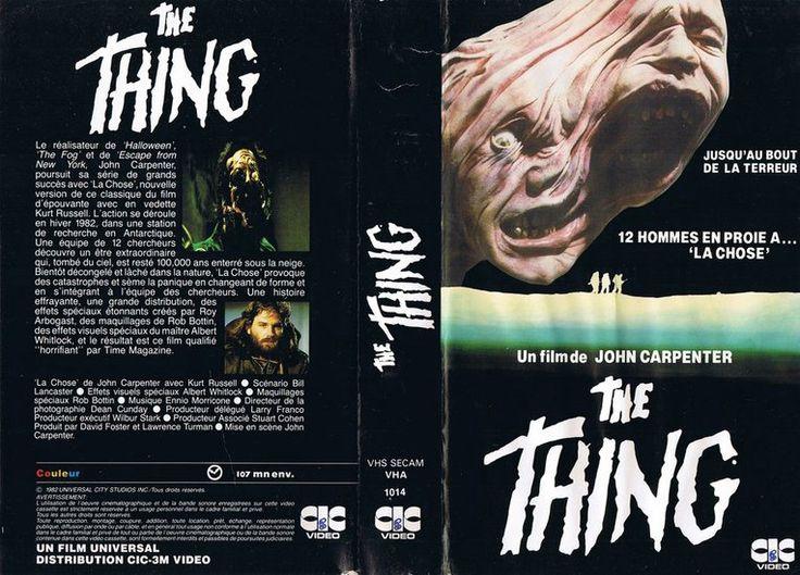 """Résultat de recherche d'images pour """"the thing carpenter jaquette K7"""""""