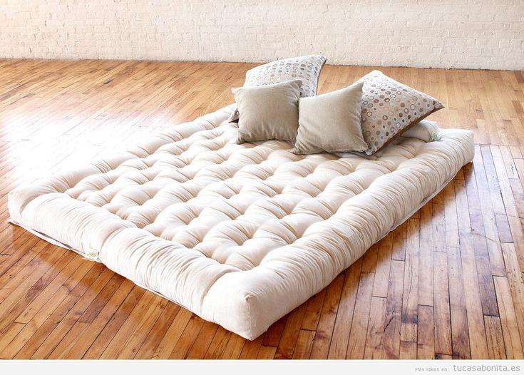 Las 25 mejores ideas sobre dormitorio fut n en pinterest y for Colchones de futon
