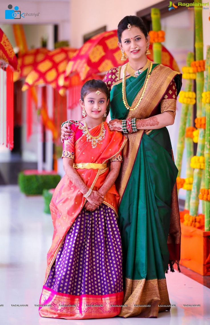 Photos - Half Saree Function of Hiya - Daughter of Famous Jewellery Designer Swetha Reddy - Image 1025
