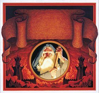 Tolkien Calendar Cover 1977, Brothers Hildebrandt