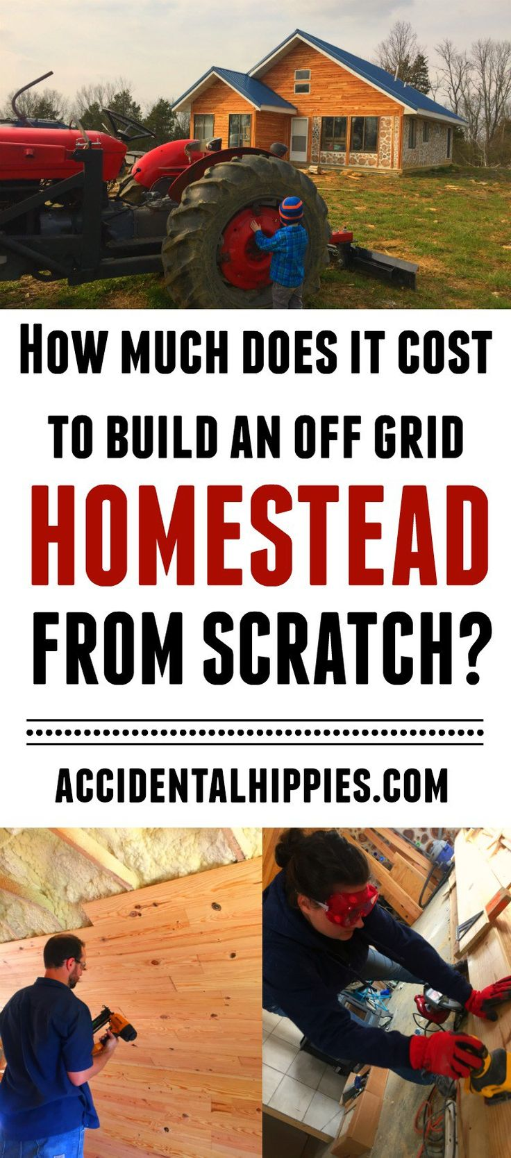 Best 25 homesteads ideas on pinterest homestead living for Cost to build a house from scratch