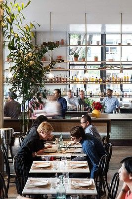 As featured in Good Food's 'Best eats in Los Angeles' gallery: set in a former phone exchange office, Cassia is one of the best new restaurants in Los Angeles. Photography by Rick Poon.