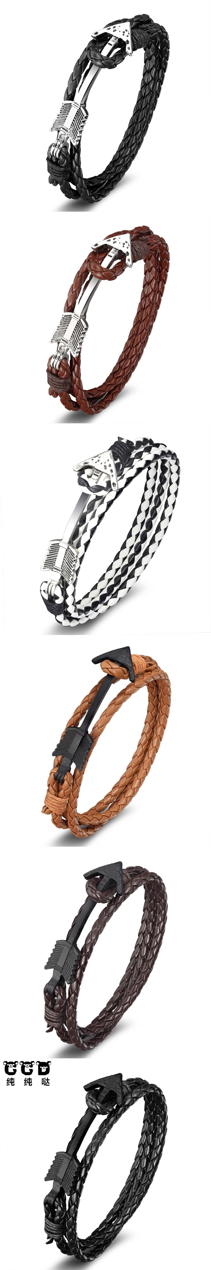 2017 new anchor design new fashion classic anchor Bracelet men's and women's anchor nylon rope male jewelry friendship bracelet