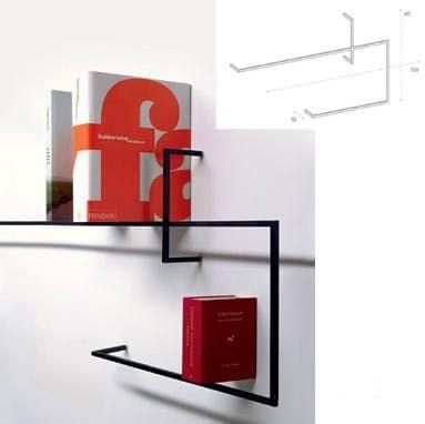 Минималистические полки В 21 веке все стремятся минимизировать наличие мебели и декора. Не все попытку получаются удачными, но те, что побеждают по настоящему искусство минимализма. Например полки, которые никто даже не заметит…