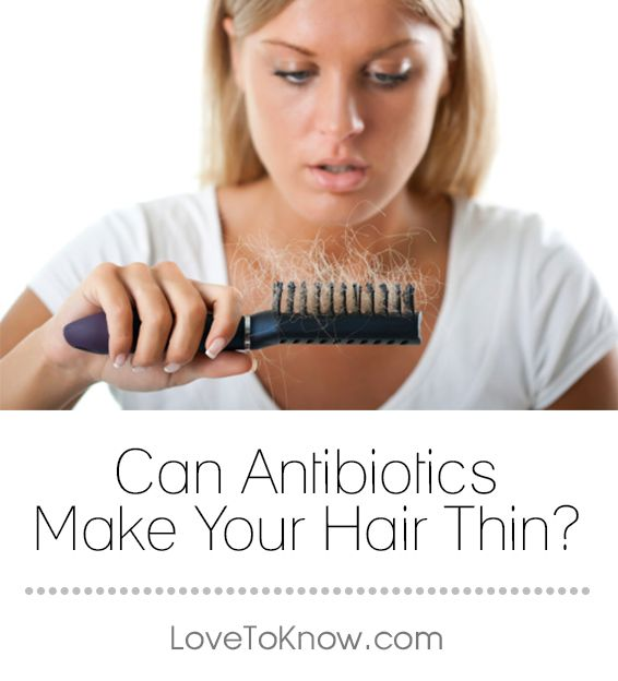 There are potential side effects to every type of medication. Some are more common, like dizziness, and nausea. However, there can be unexpected side effects as well, such as thinning hair as a result of antibiotic use. To combat the issue, it is important to understand why antibiotics make hair thin, and the best ways to regain hair health. | Can Antibiotics Make Your Hair Thin? from #LoveToKnow