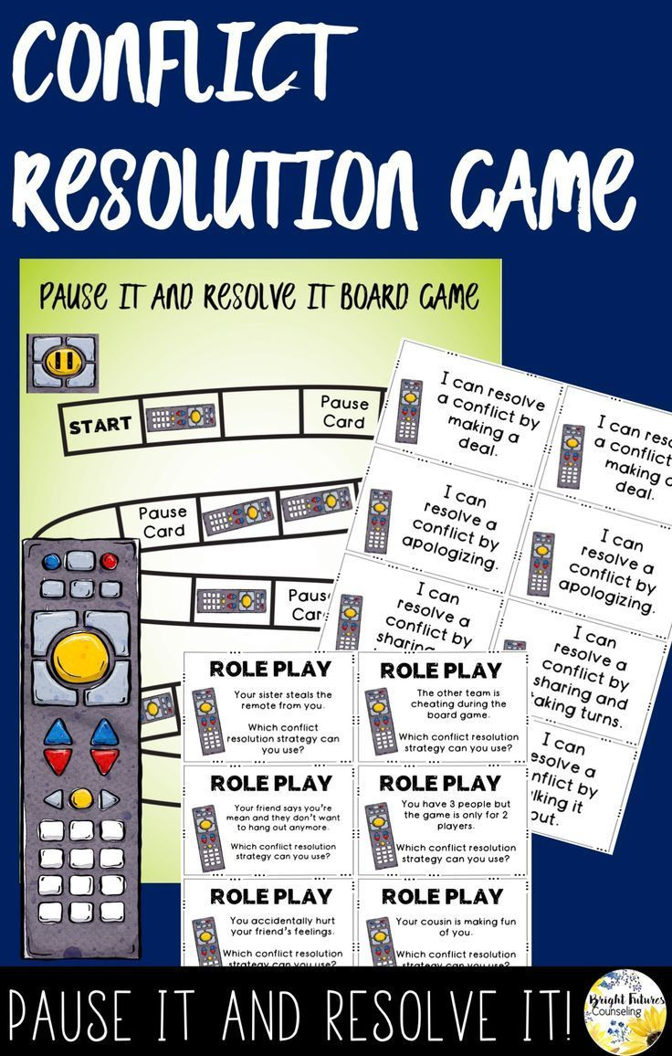Conflict Resolution Games for Elementary Students