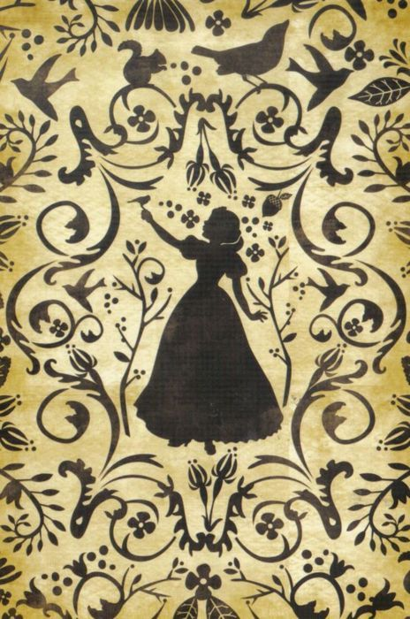 This would be perfect for my bathroom! The theme is Snow White.  :)