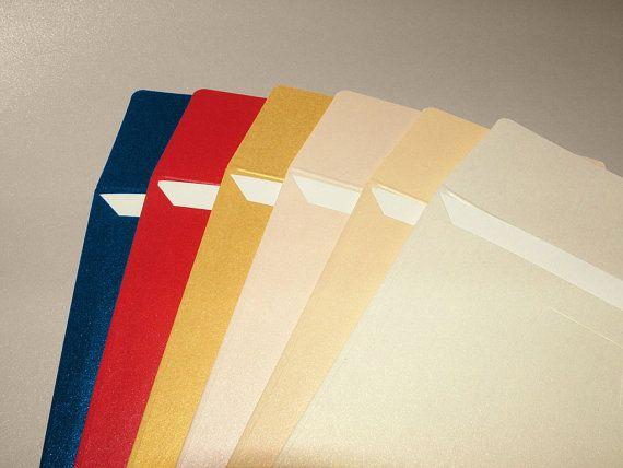 Stationery set with Elegant Metallic Envelope and by BudapestWP, $5.75
