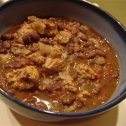 Black bean chili recipe - 5 stars!