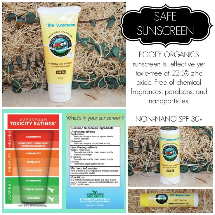 Rated 1 on EWG, Poofy Organics Sunscreen is the perfect sunscreen for the entire family! Stephhueston.poofyorganics.com