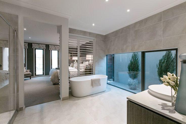 Master Bedroom Ensuite: (Classic Hamptons) Marbella - Porter Davis