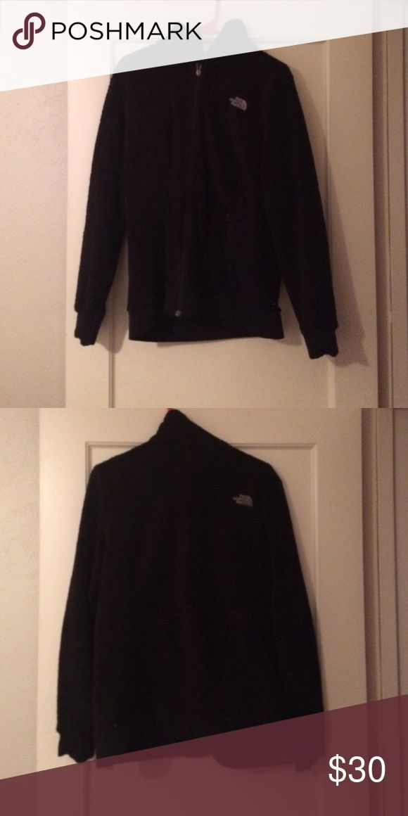 Fuzzy Black North Face Worn pretty often in the past. Again, this has been sitting unused for about a year now. Still in very good shape almost like new. North Face Jackets & Coats