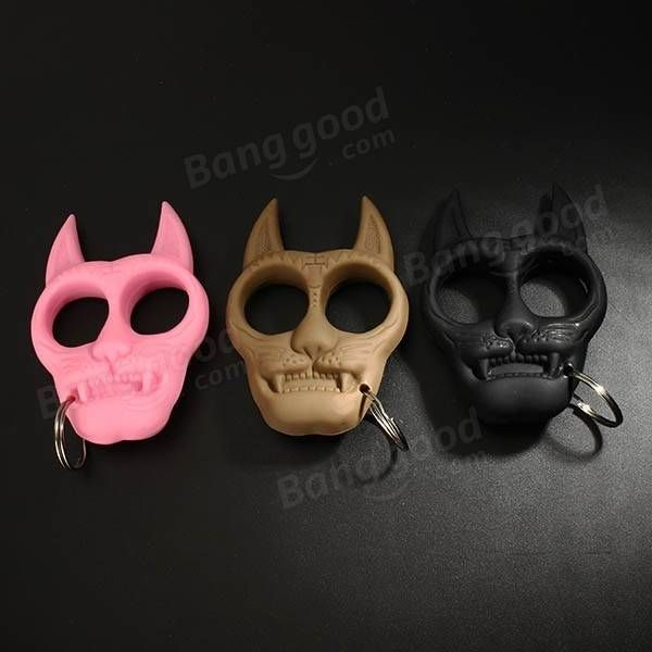 Tiger Two Fork Female Self Defense Products Portable Combination Of Small Tools EDC Tool Sale - Banggood.com