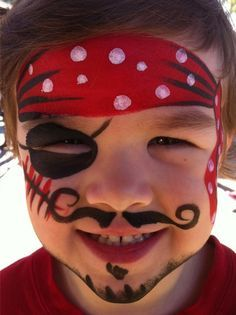Maquillage enfant pirate                                                       …