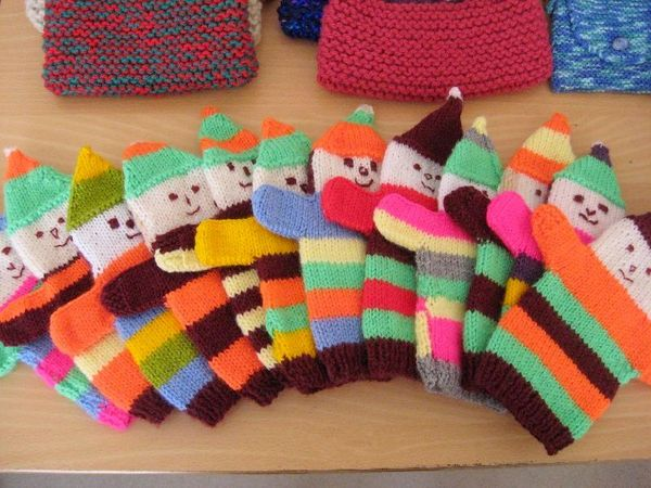 Knitting Patterns Charity : Hand Puppets for Charity Appeals Amigurumi / DIY Toys Crochet & Knitted...