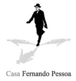 Casa Fernando Pessoa - Para além da obra de Fernando Pessoa inclui informação sobre a vida do autor, um banco de poesia, uma biblioteca digital e informação sobre as atividades desenvolvidas.