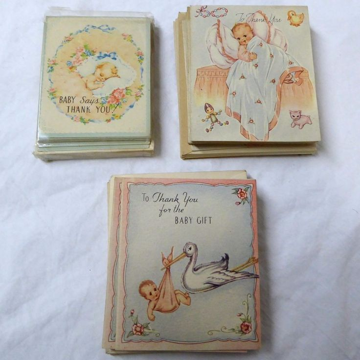Unique Thank You Card Ideas: 25+ Unique Baby Thank You Cards Ideas On Pinterest