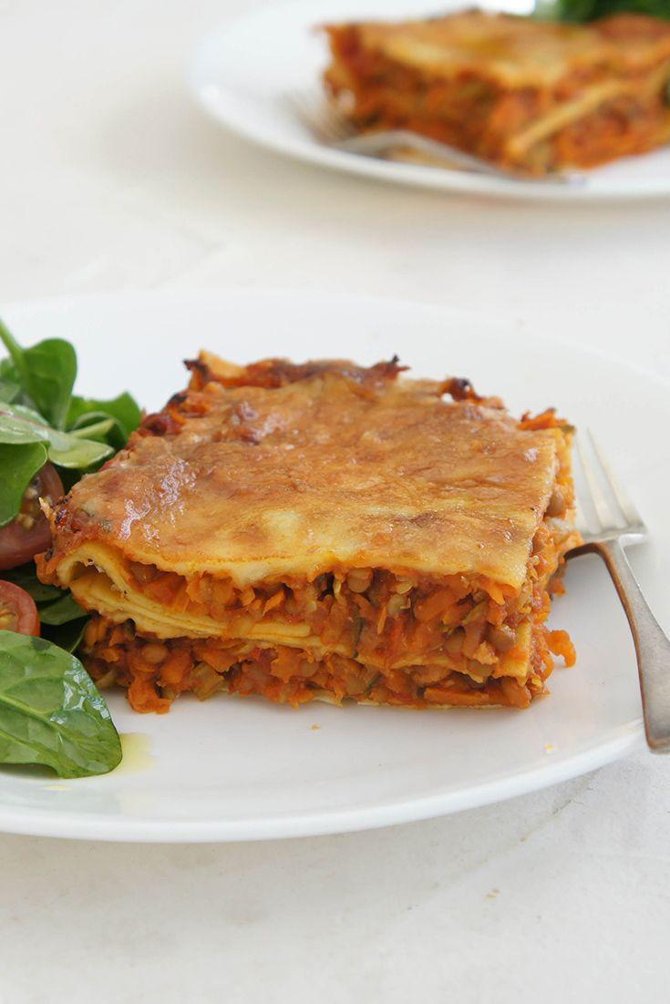 Curried Lentil Lasagne by samantha1170:  A tasty vegetarian twist on an Italian classic.