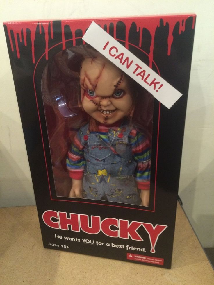 Childs Play 15 Inch Talking Chucky Doll Brand New Mezco