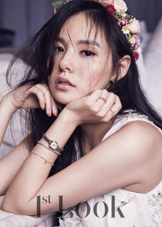 Min Hyo Rin is an ethereal beauty in '1st Look' | allkpop.com