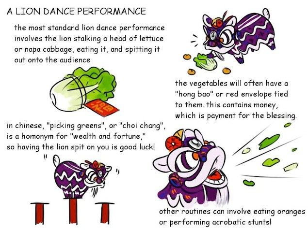 What's the Meaning of the Chinese New Year Lion Dance Performance? A Step-by-Step Visual Guide