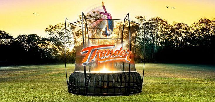 Vuly Thunder springless trampoline!