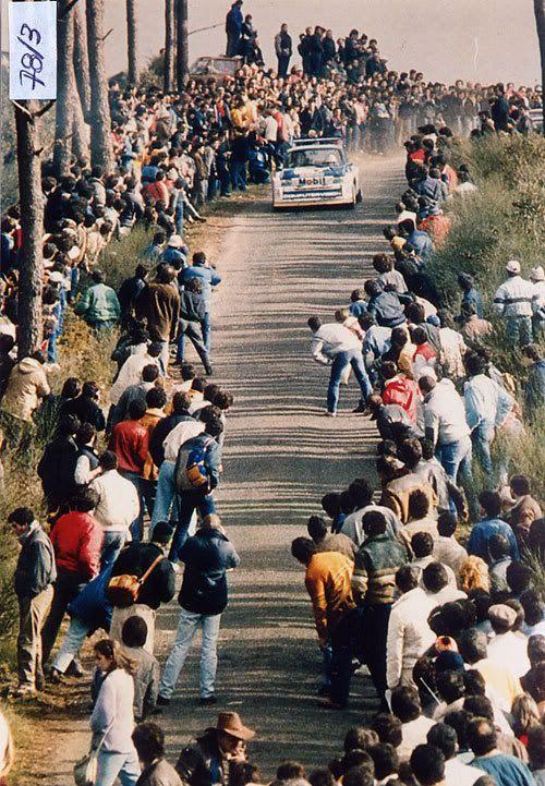 Group B    Tony Pond/Metro 6R4/Portugal/1986