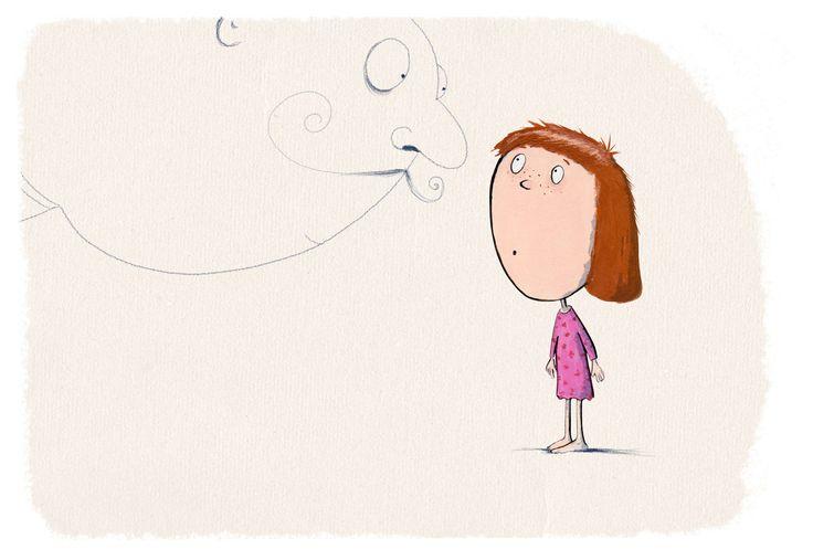 The girl – andrearingli illustration