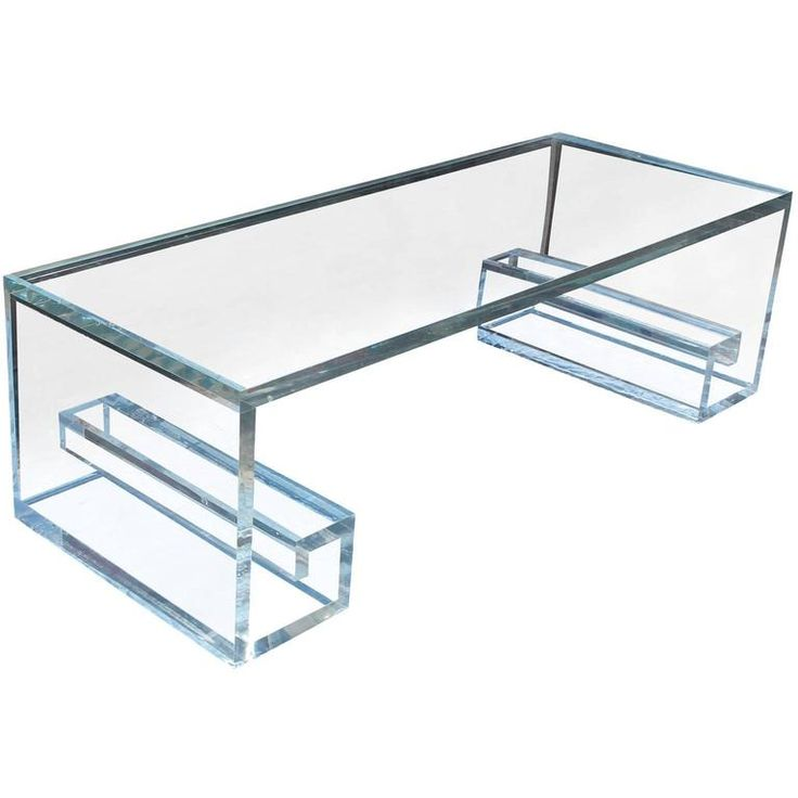 25 best ideas about Lucite coffee tables on Pinterest Acrylic