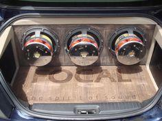 A #Focal #Car installation