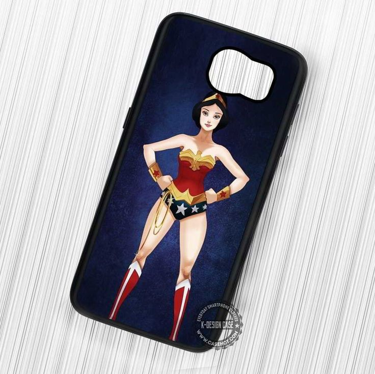 Snow White as Wonder Woman Disney - Samsung Galaxy S7 S6 S5 Note 7 Cases & Covers