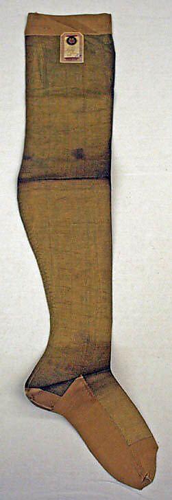 Stockings  Date: ca. 1885 Culture: French Medium: silk